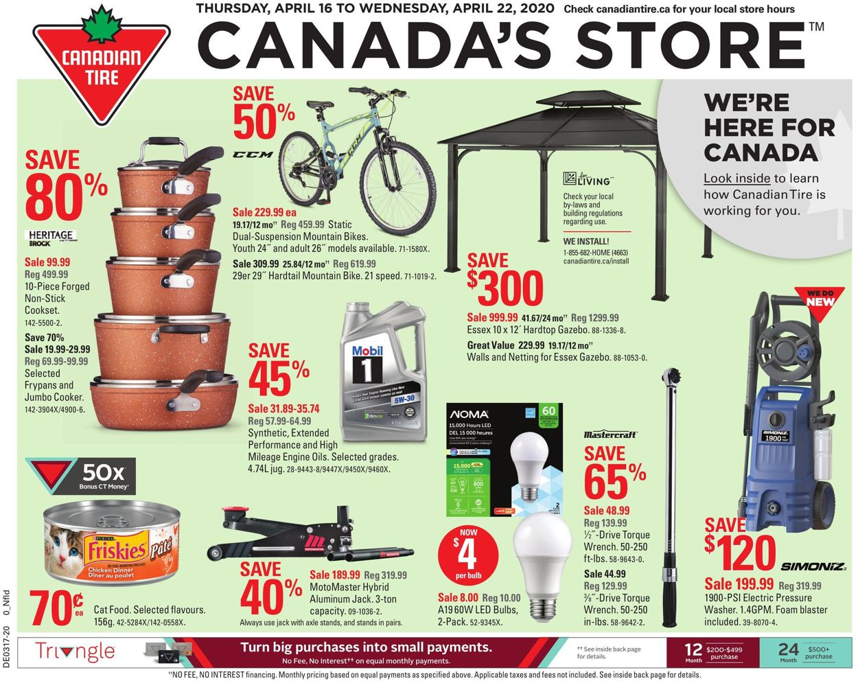 Canadian Tire Flyer - 04/16-04/22/2020