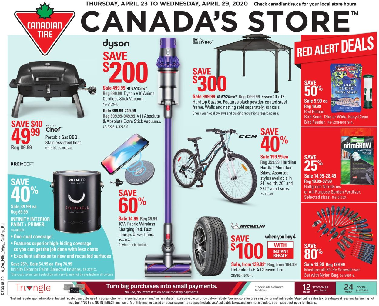 Canadian Tire Flyer - 04/23-04/29/2020