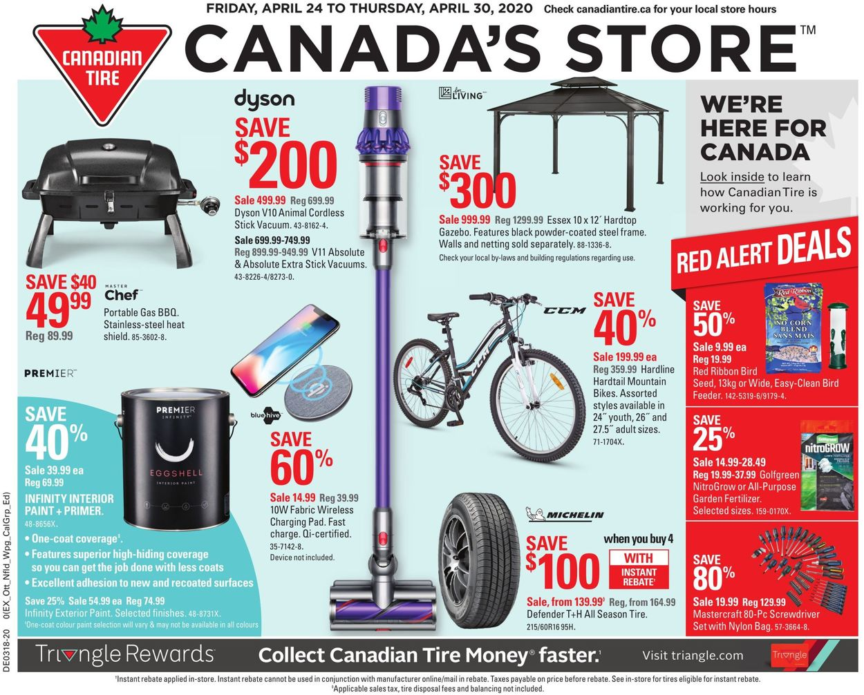 Canadian Tire Flyer - 04/24-04/30/2020