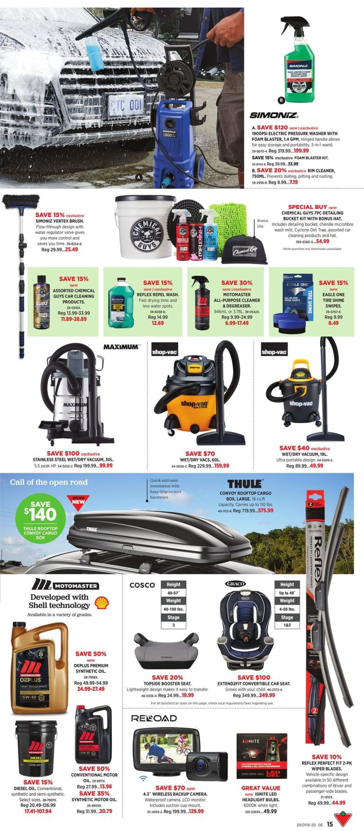 Canadian Tire Flyer - 05/01-05/21/2020 (Page 15)