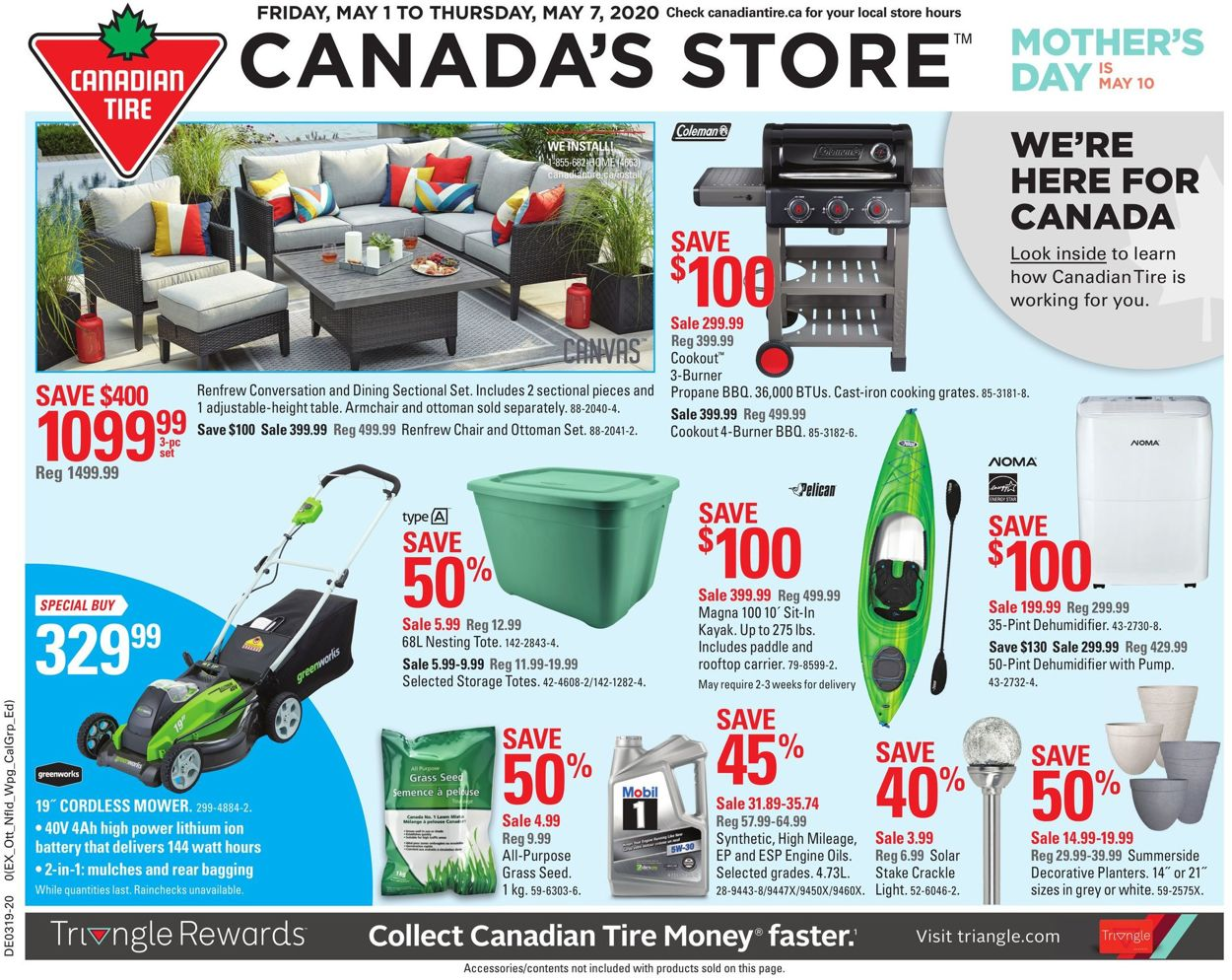 Canadian Tire Flyer - 05/01-05/07/2020