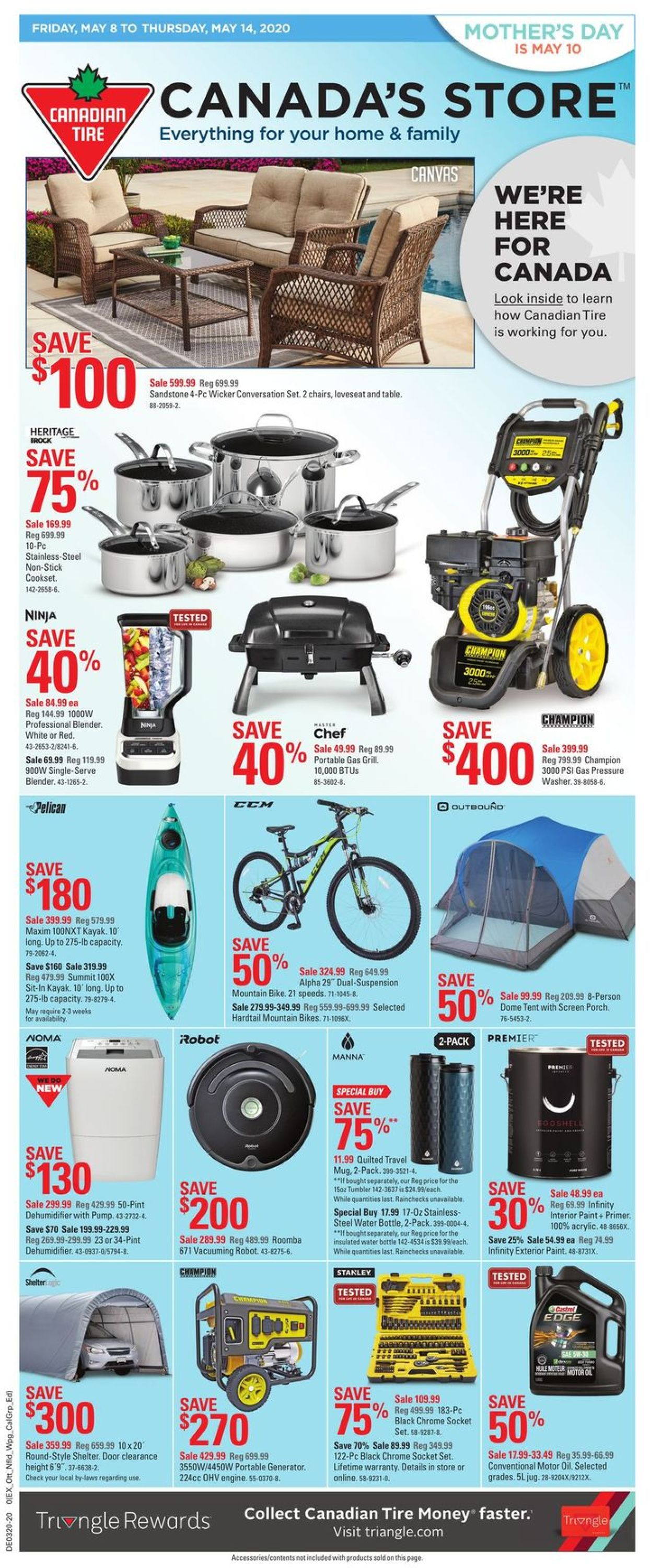 Canadian Tire Flyer - 05/08-05/14/2020