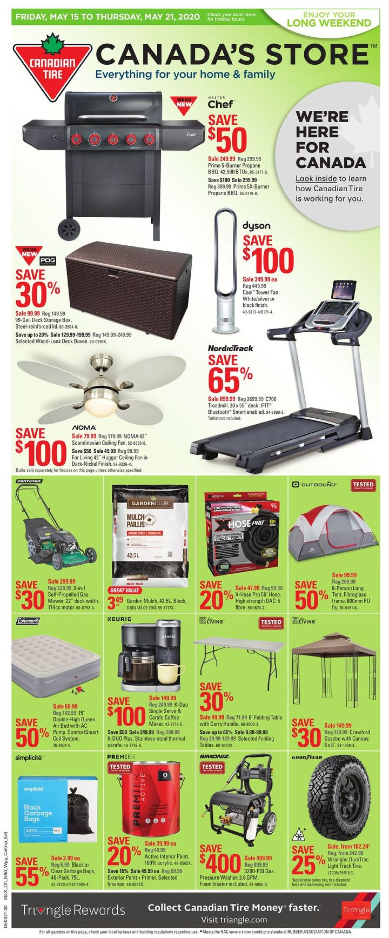 Canadian Tire Flyer - 05/15-05/21/2020