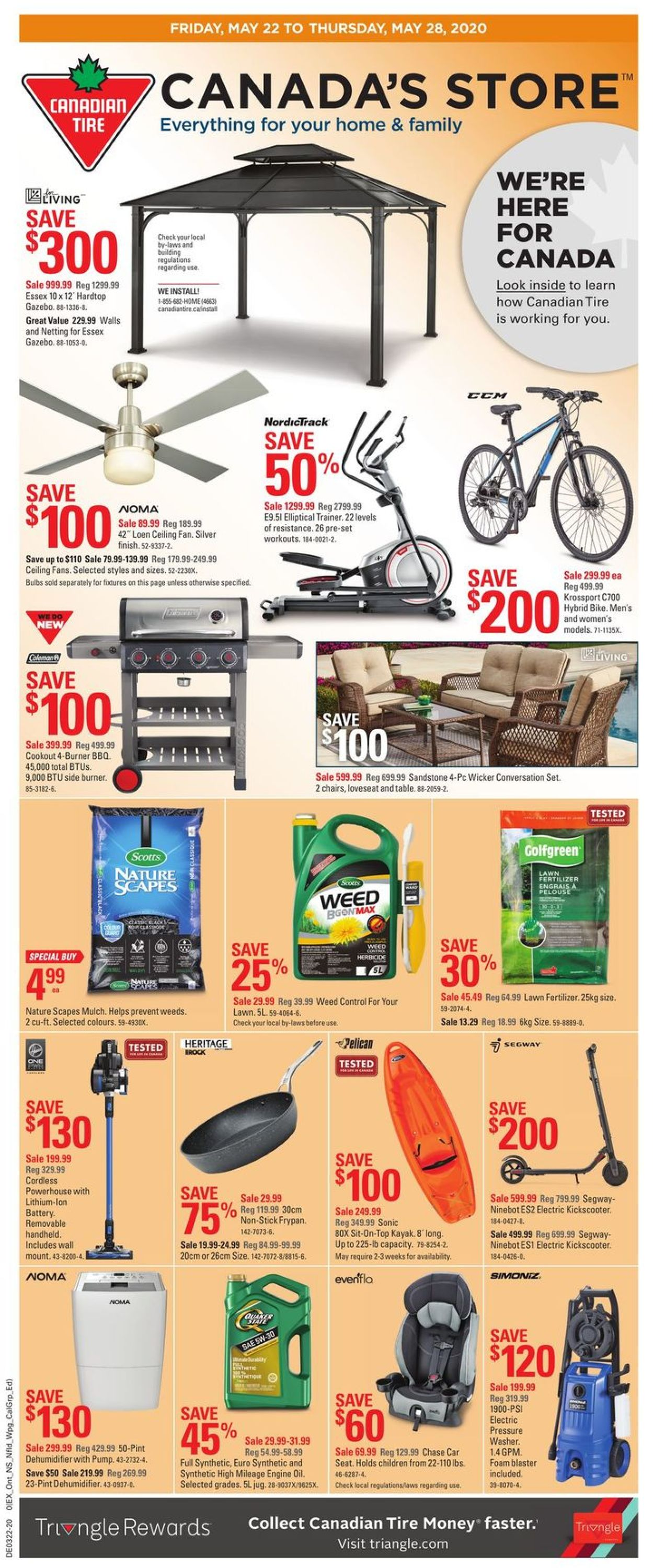 Canadian Tire Flyer - 05/22-05/28/2020