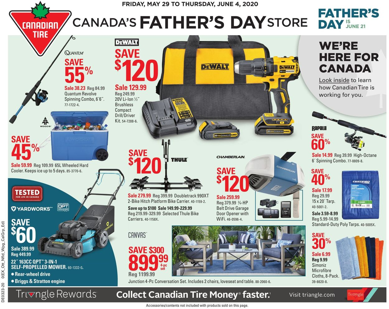 Canadian Tire Flyer - 05/29-06/04/2020