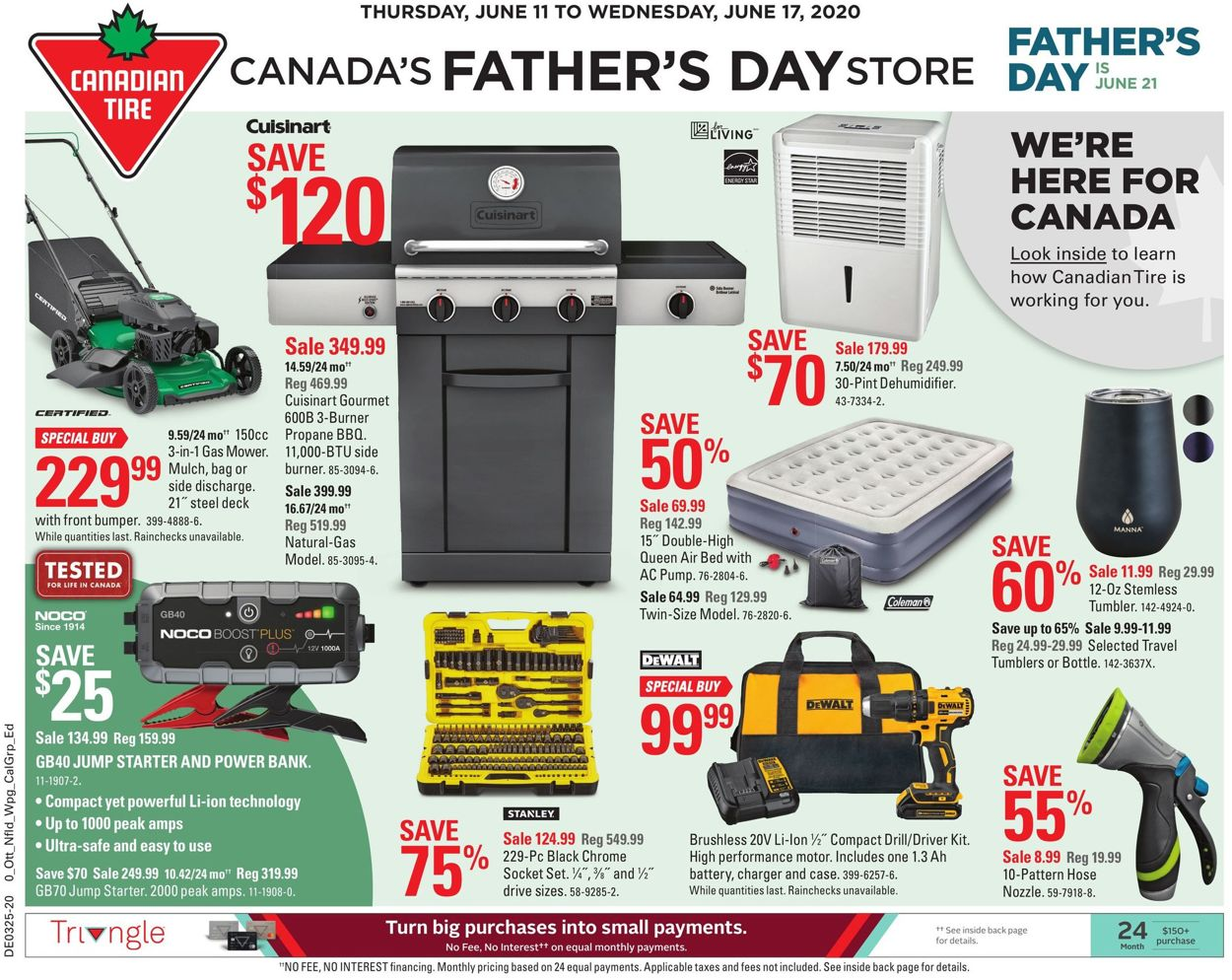 Canadian Tire Flyer - 06/11-06/17/2020