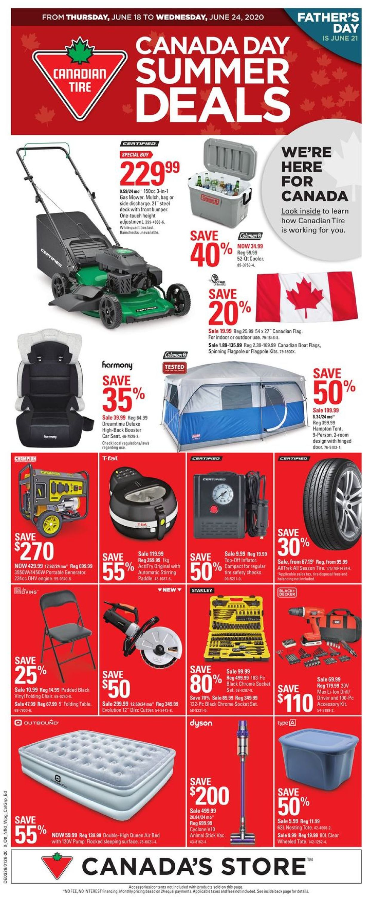 Canadian Tire Flyer - 06/18-06/24/2020