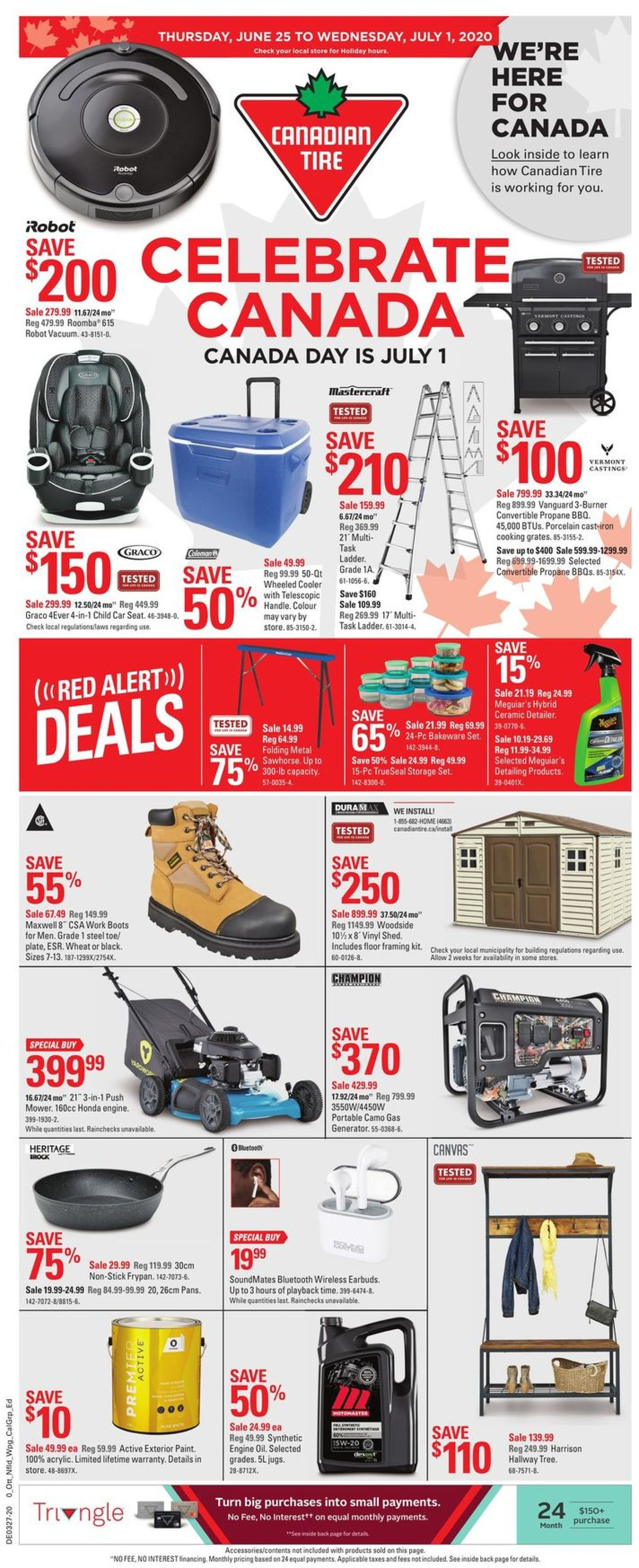 Canadian Tire Flyer - 06/25-07/01/2020