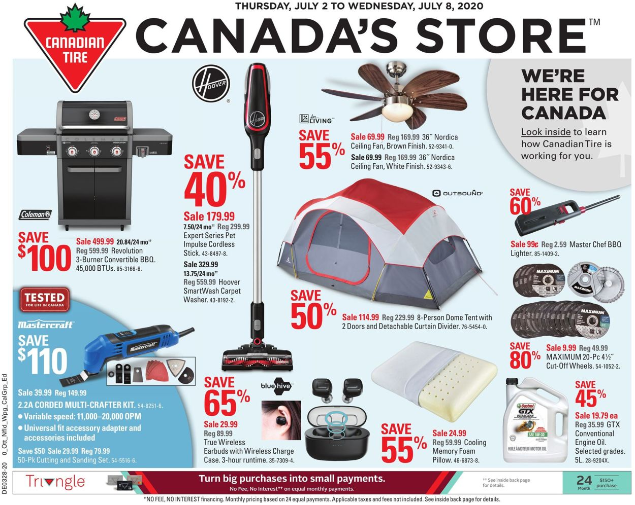 Canadian Tire Flyer - 07/02-07/08/2020