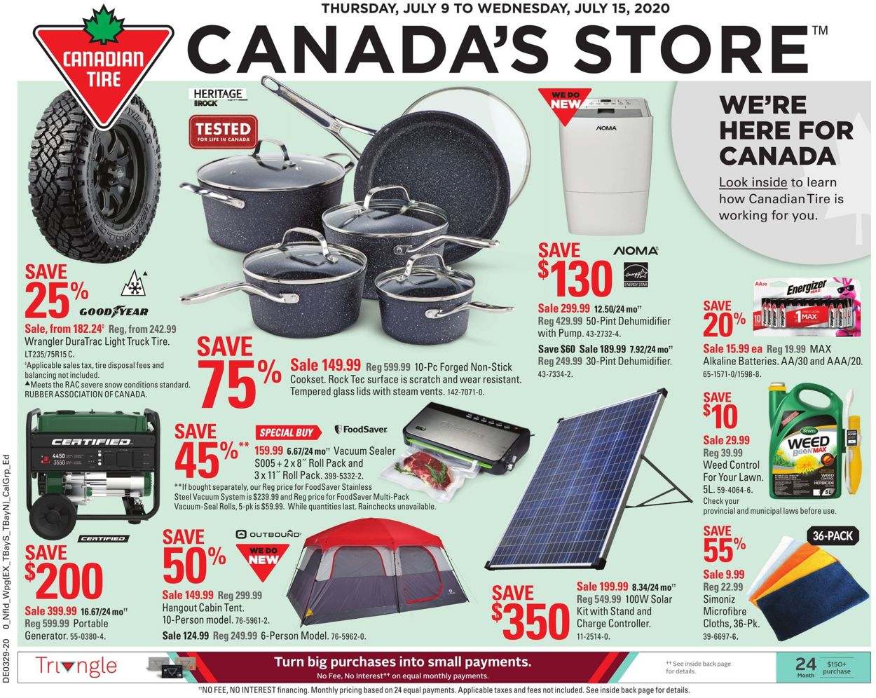 Canadian Tire Flyer - 07/09-07/15/2020