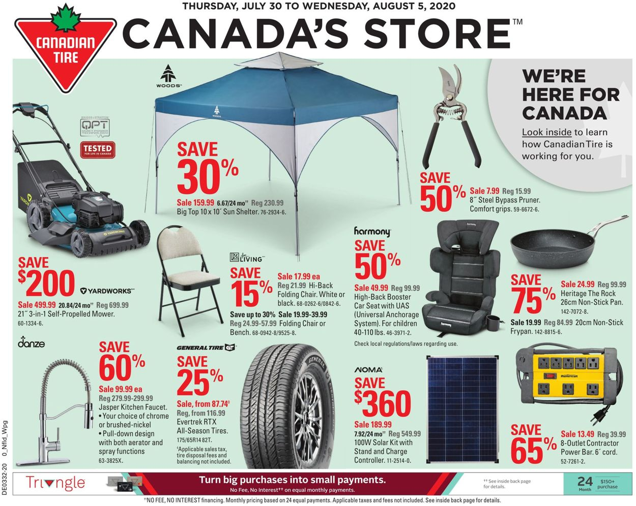 Canadian Tire Flyer - 07/30-08/05/2020