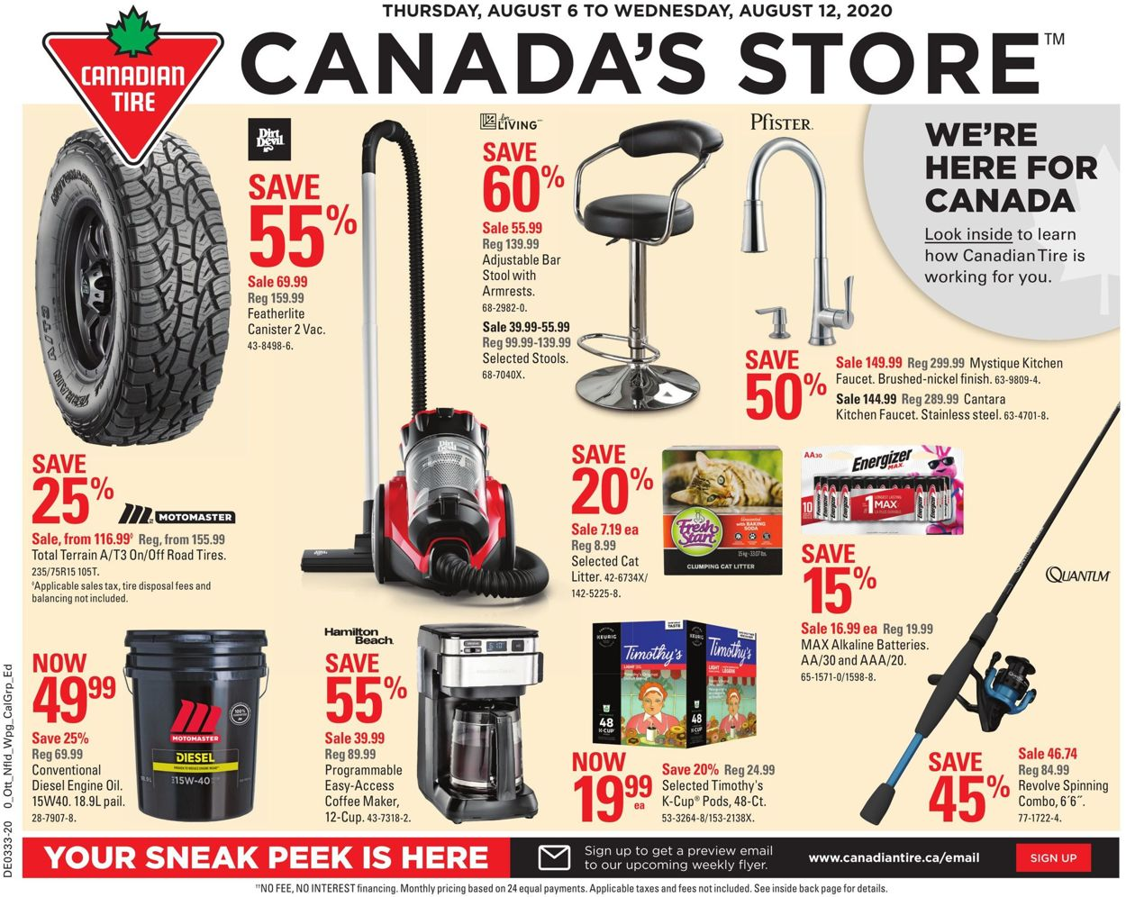 Canadian Tire Flyer - 08/06-08/12/2020