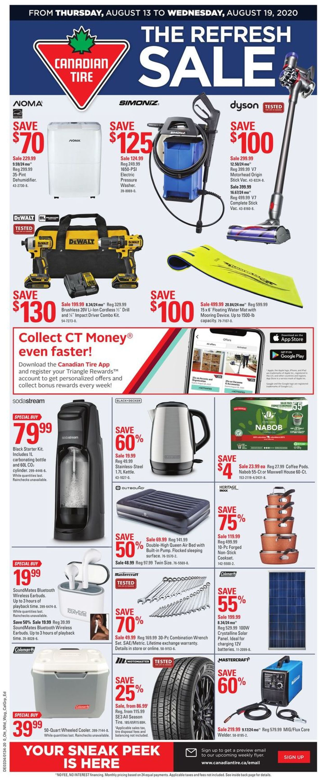 Canadian Tire Flyer - 08/13-08/19/2020