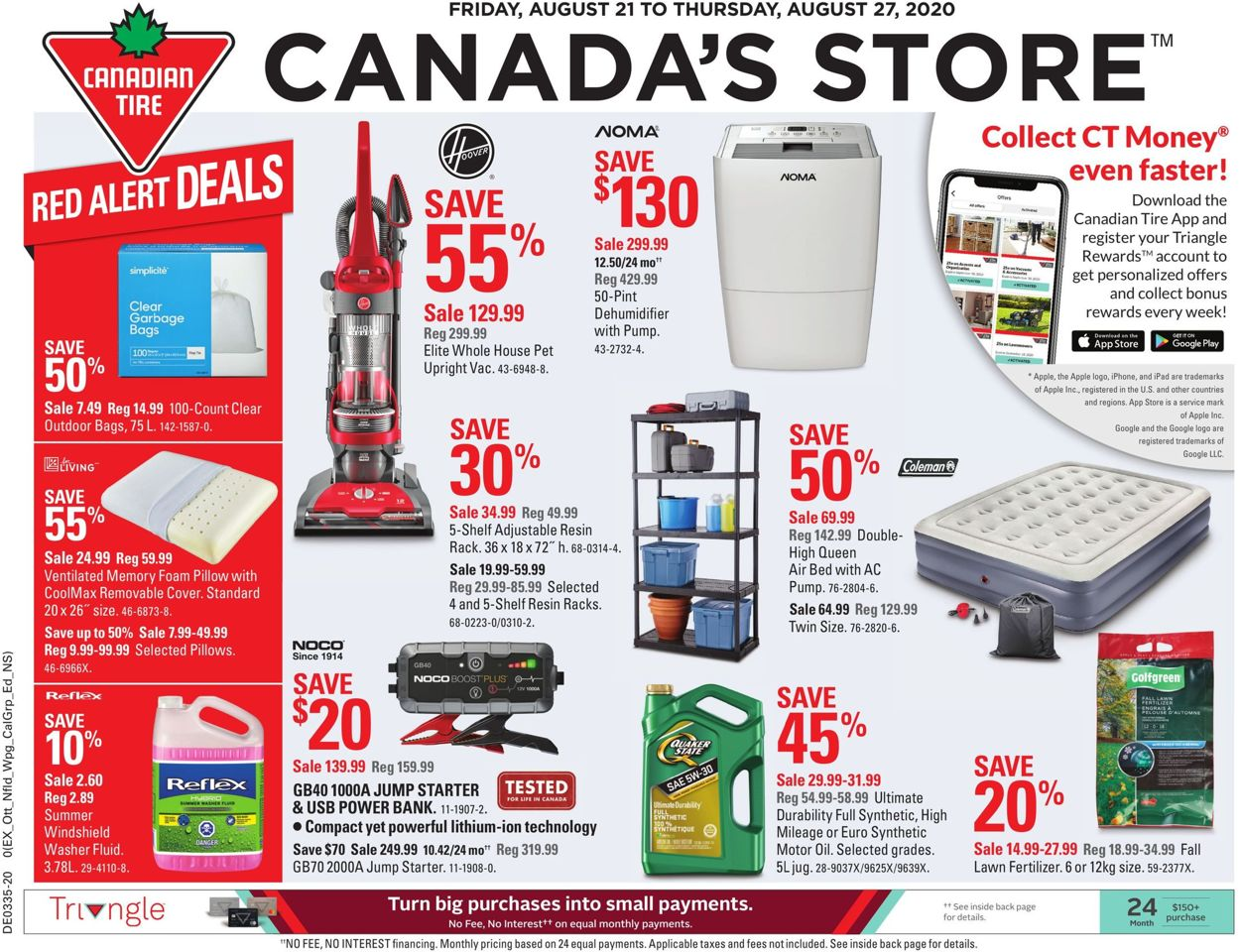 Canadian Tire Flyer - 08/21-08/27/2020