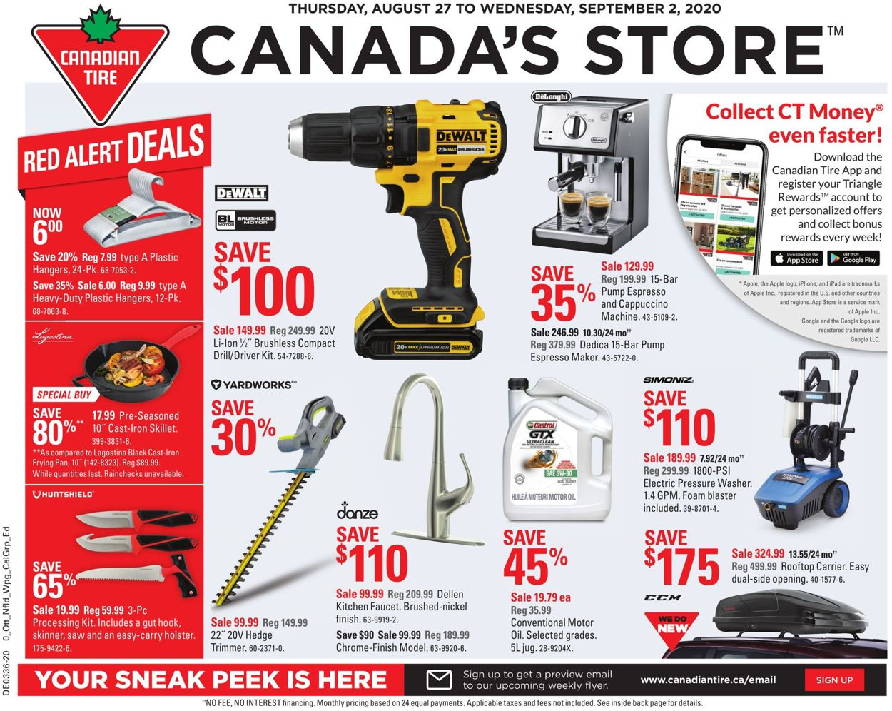Canadian Tire Flyer - 08/27-09/02/2020