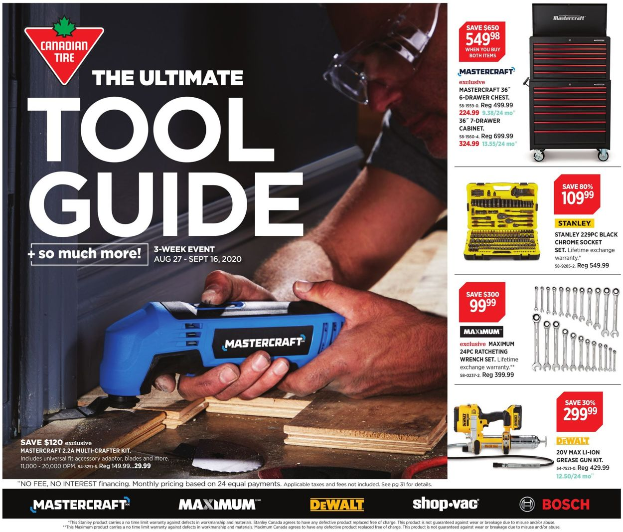 Canadian Tire Flyer - 08/27-09/16/2020