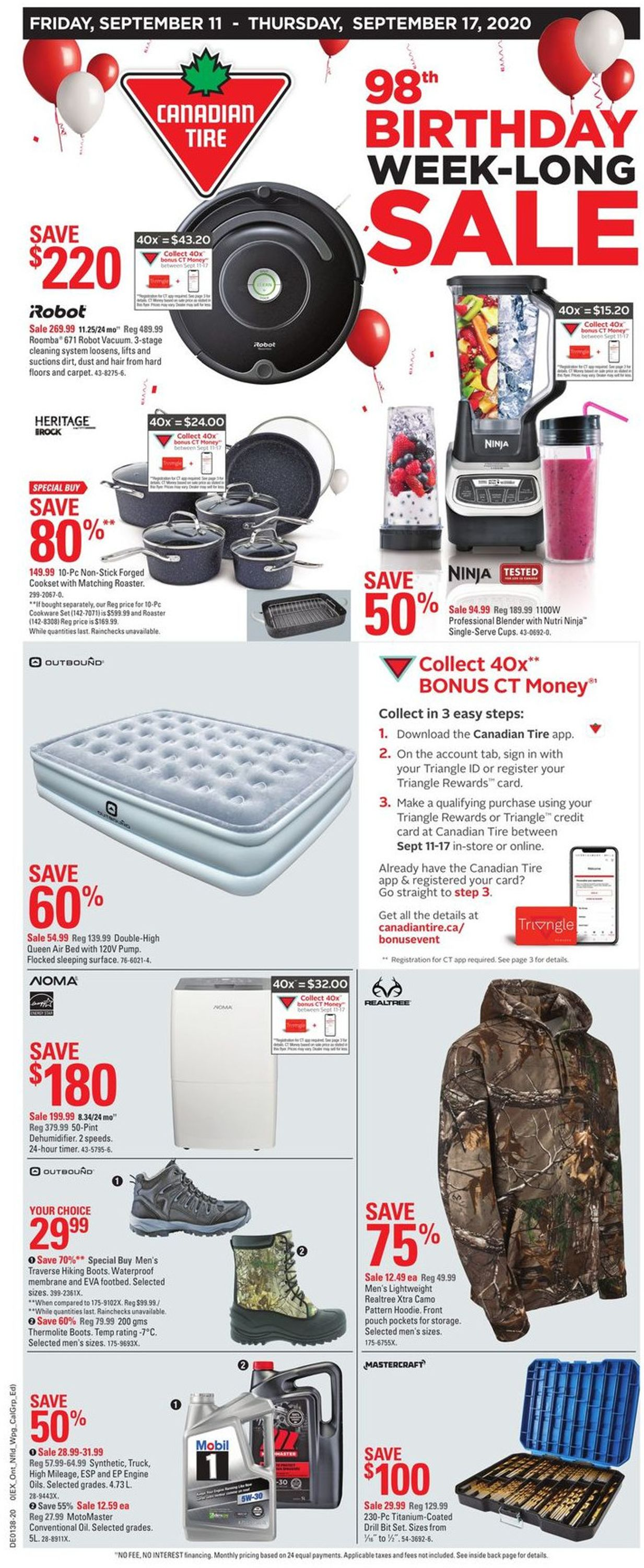 Canadian Tire Flyer - 09/11-09/17/2020