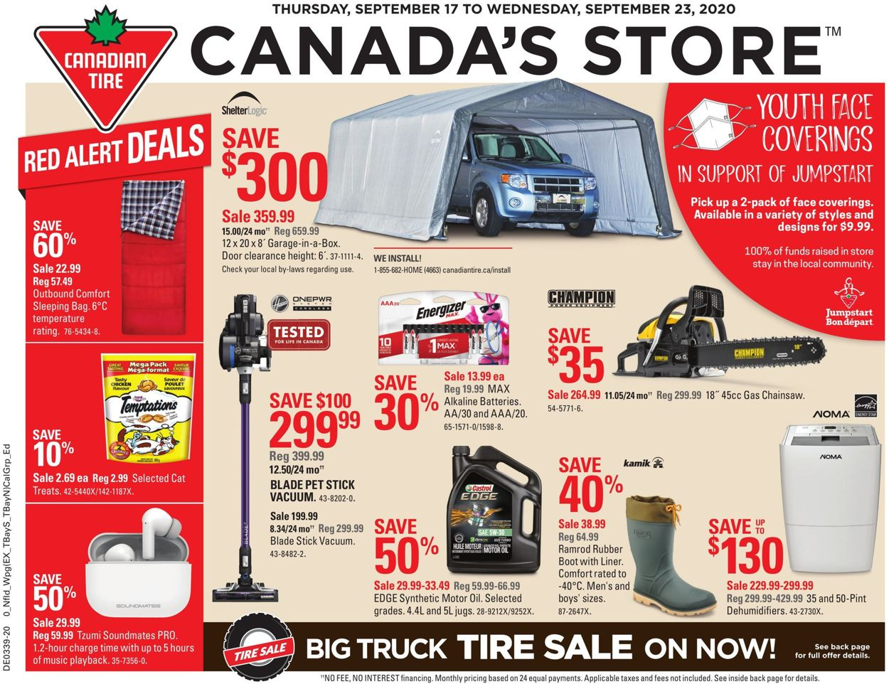 Canadian Tire Flyer - 09/17-09/23/2020