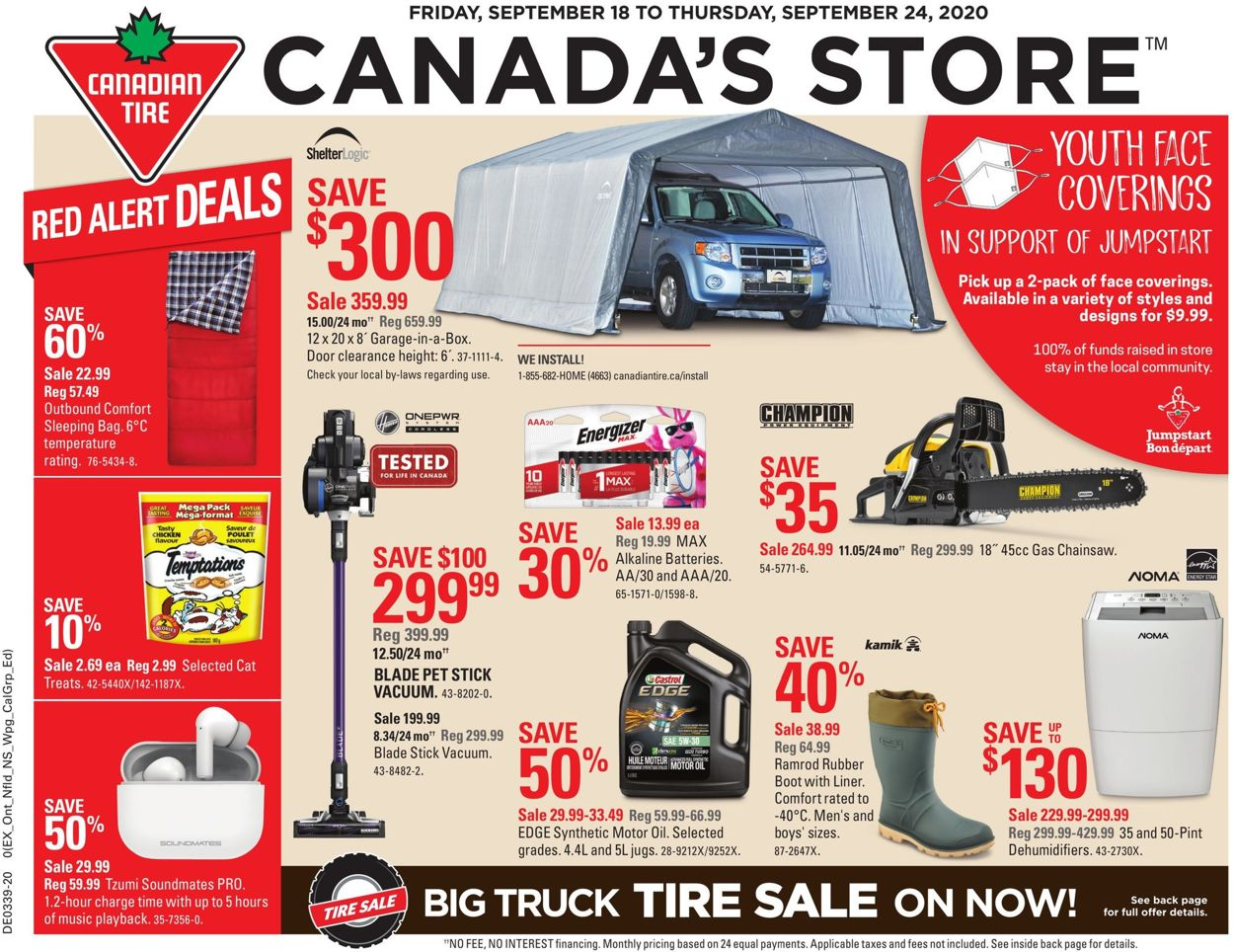 Canadian Tire Flyer - 09/18-09/24/2020
