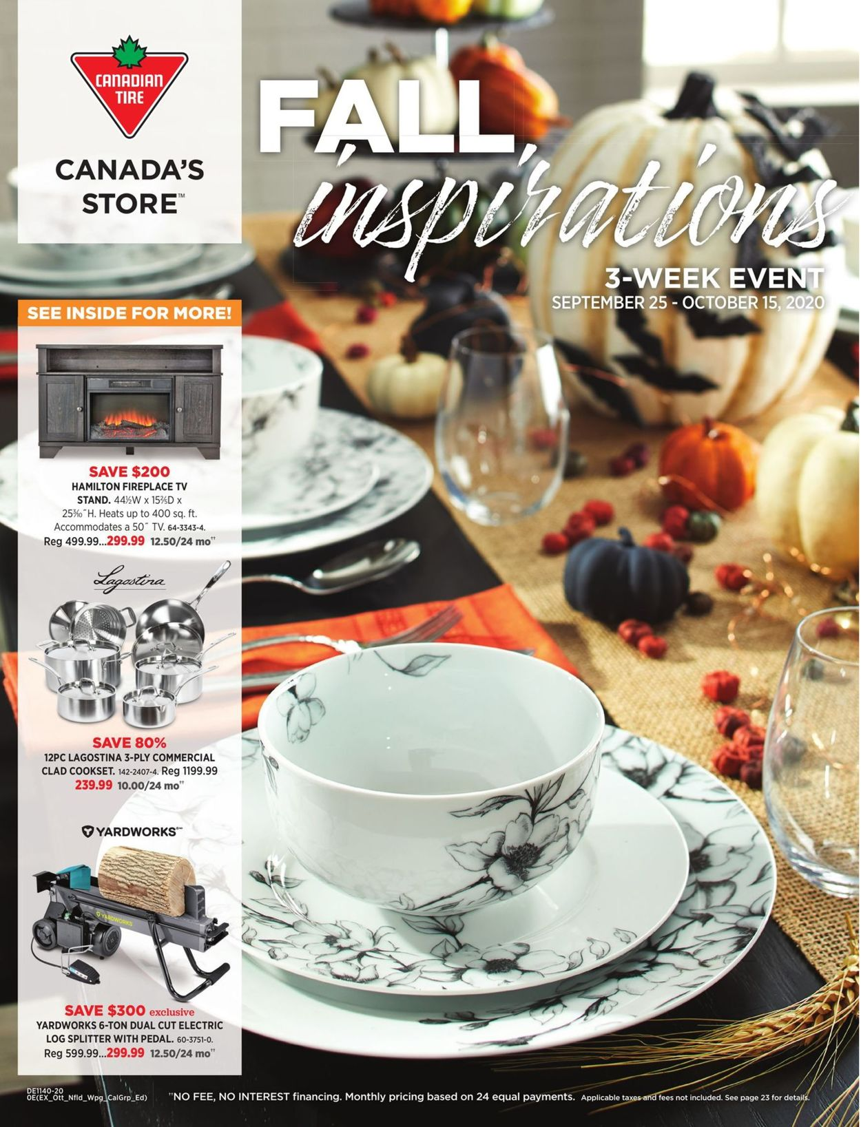 Canadian Tire Flyer - 09/25-10/15/2020