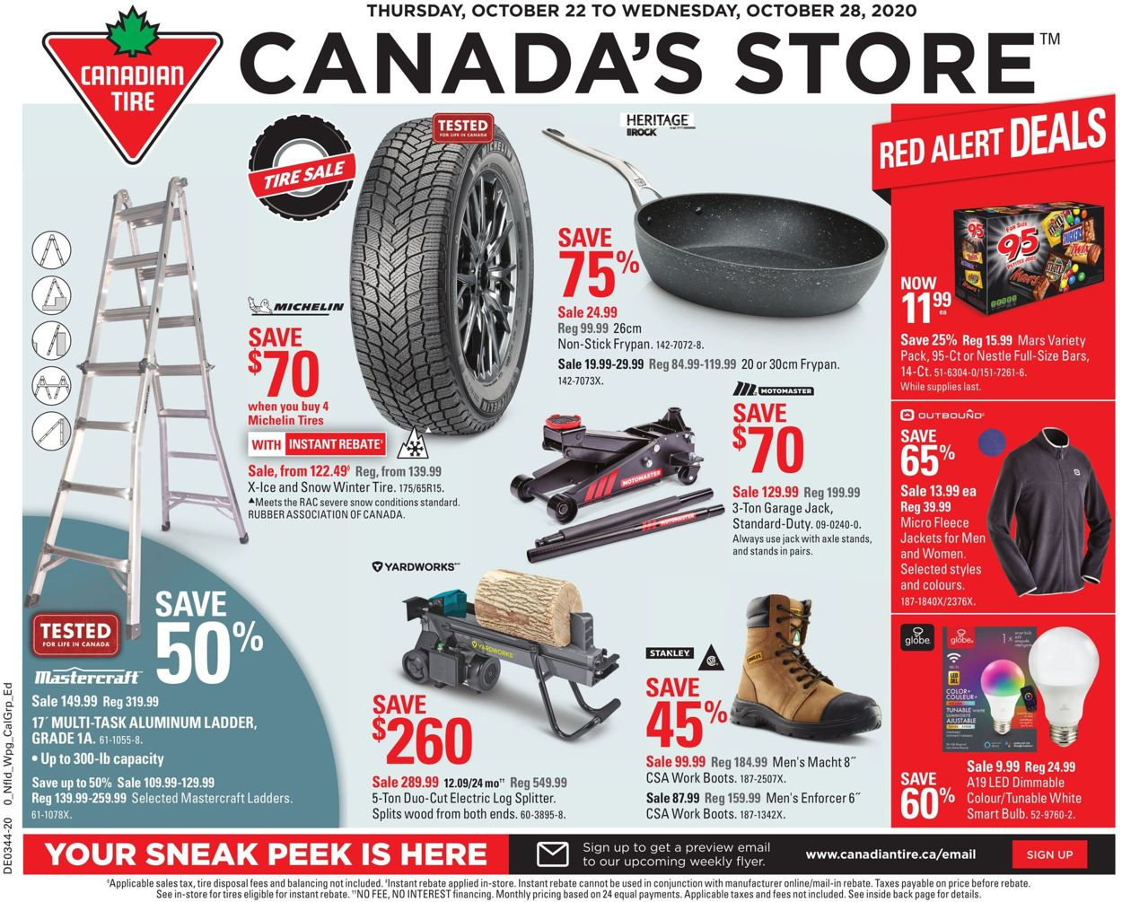 Canadian Tire Flyer - 10/22-10/28/2020