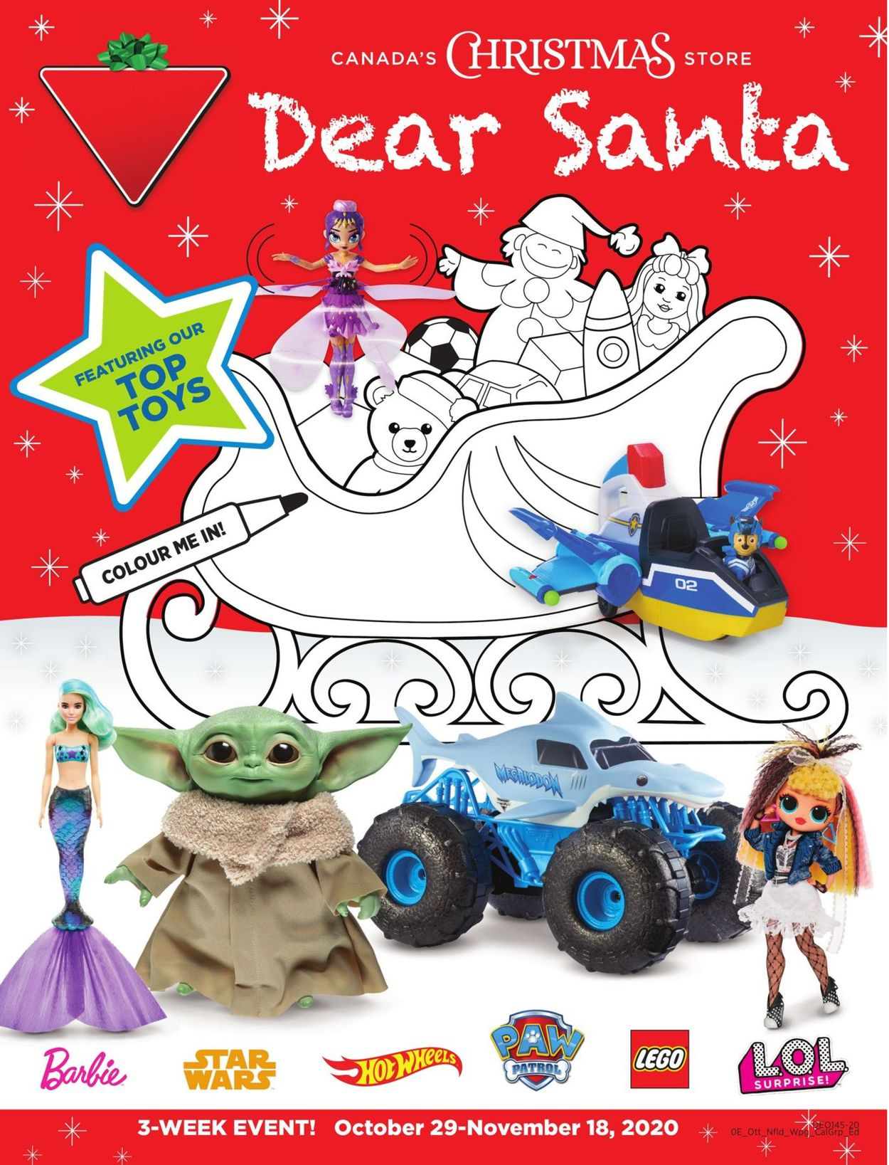 Canadian Tire - Christmas 2020 Flyer - 10/29-11/18/2020