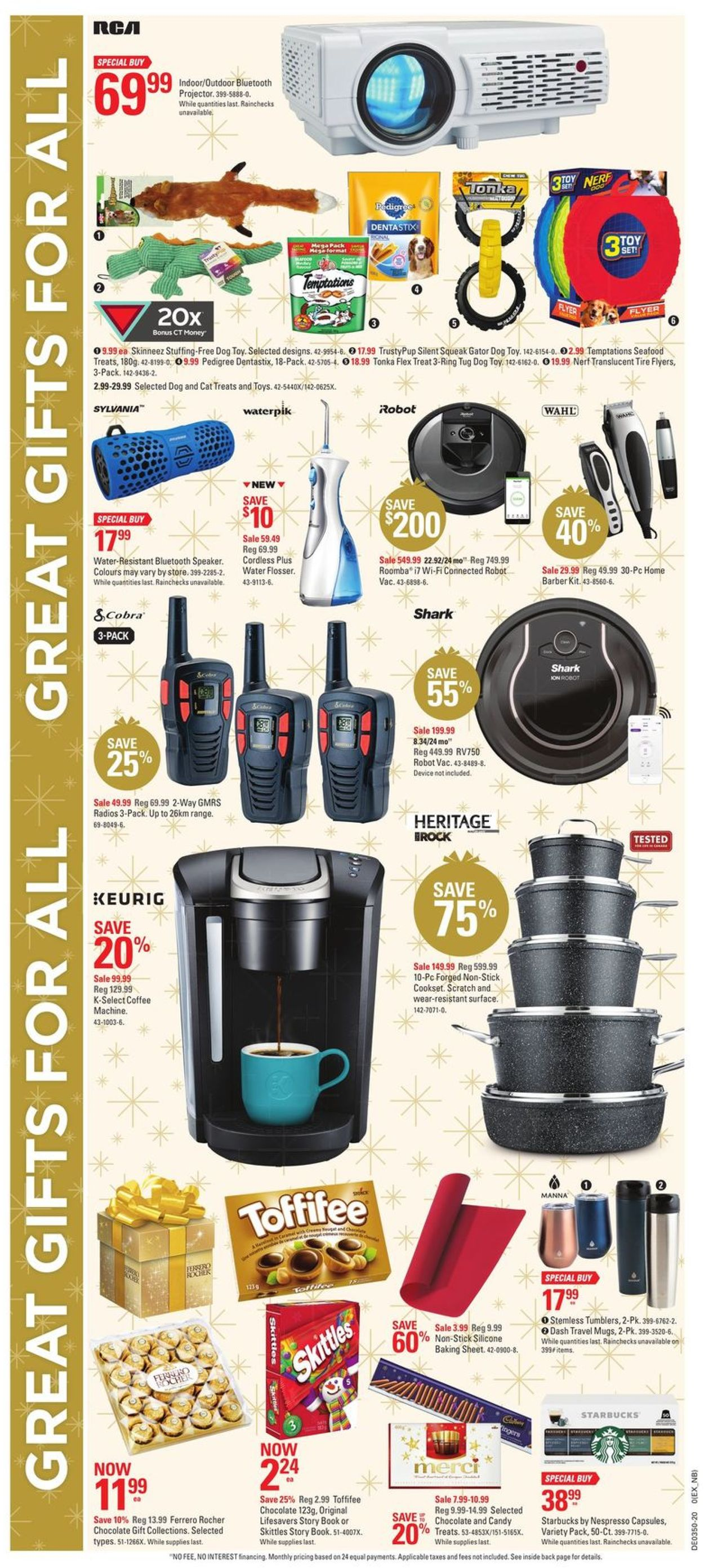 Canadian Tire Christmas Store 2020 Flyer - 12/03-12/10/2020 (Page 20)