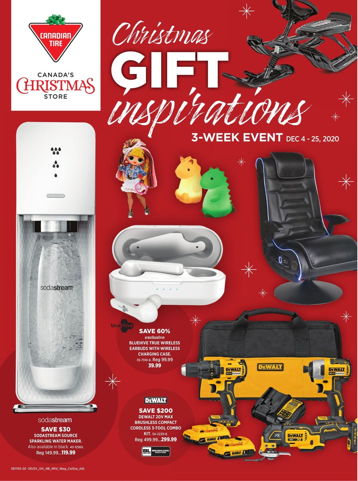 Canadian Tire Christmas Gift 2020 Flyer - 12/04-12/25/2020