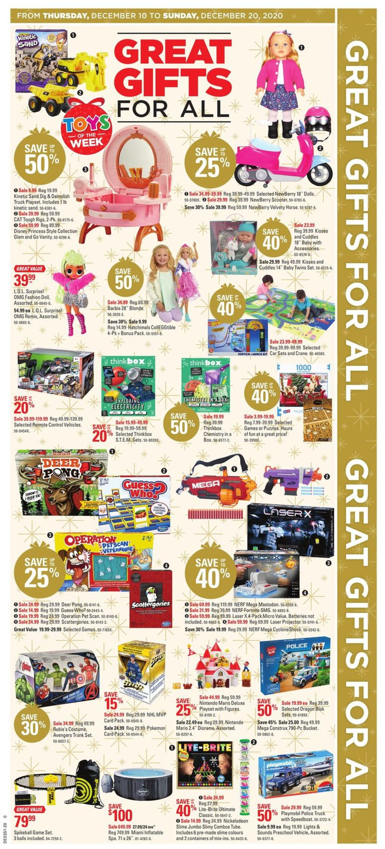 Canadian Tire Christmas Store 2020 Flyer - 12/10-12/20/2020 (Page 4)