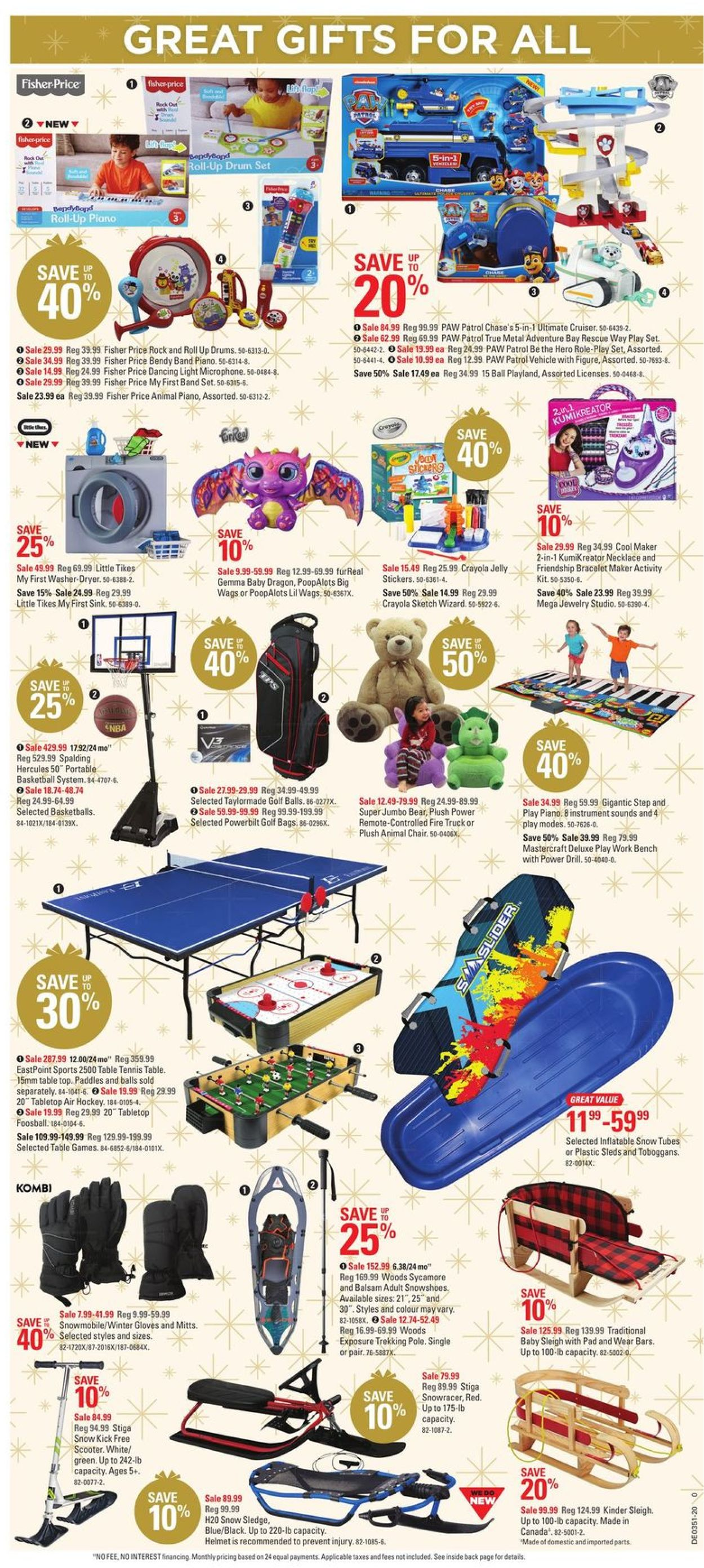 Canadian Tire Christmas Store 2020 Flyer - 12/10-12/20/2020 (Page 5)