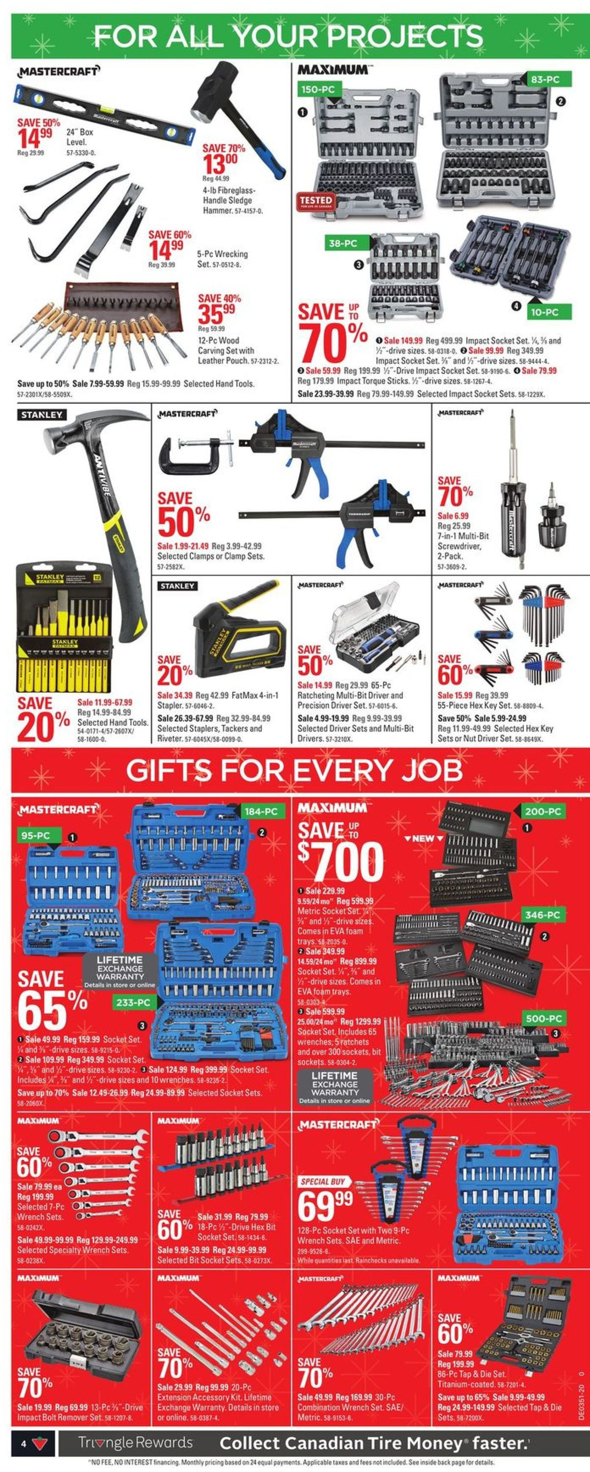 Canadian Tire Christmas Store 2020 Flyer - 12/10-12/20/2020 (Page 12)