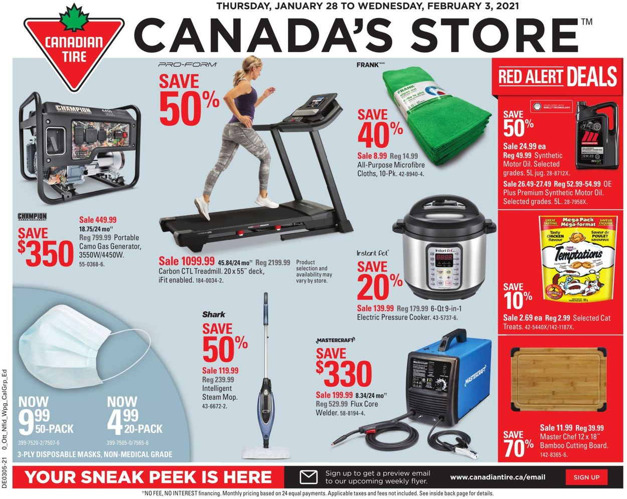 Canadian Tire Flyer - 01/28-02/03/2021