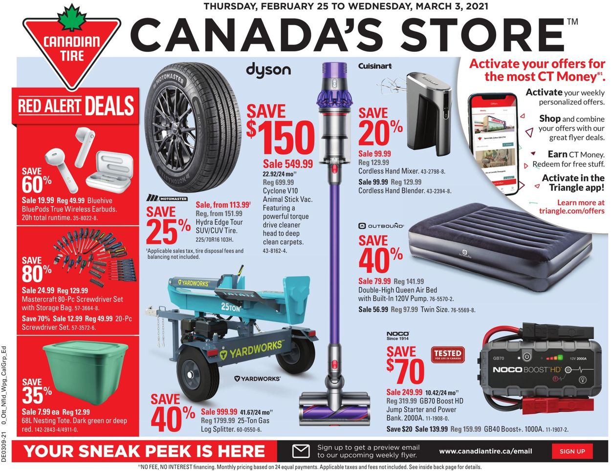 Canadian Tire Flyer - 02/25-03/03/2021