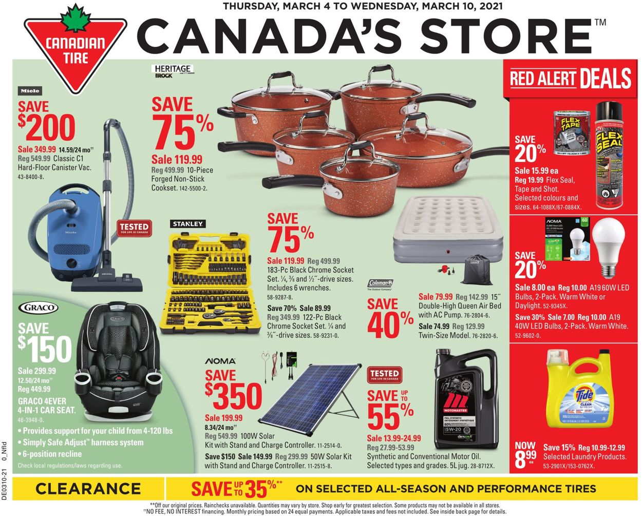 Canadian Tire Flyer - 03/04-03/10/2021