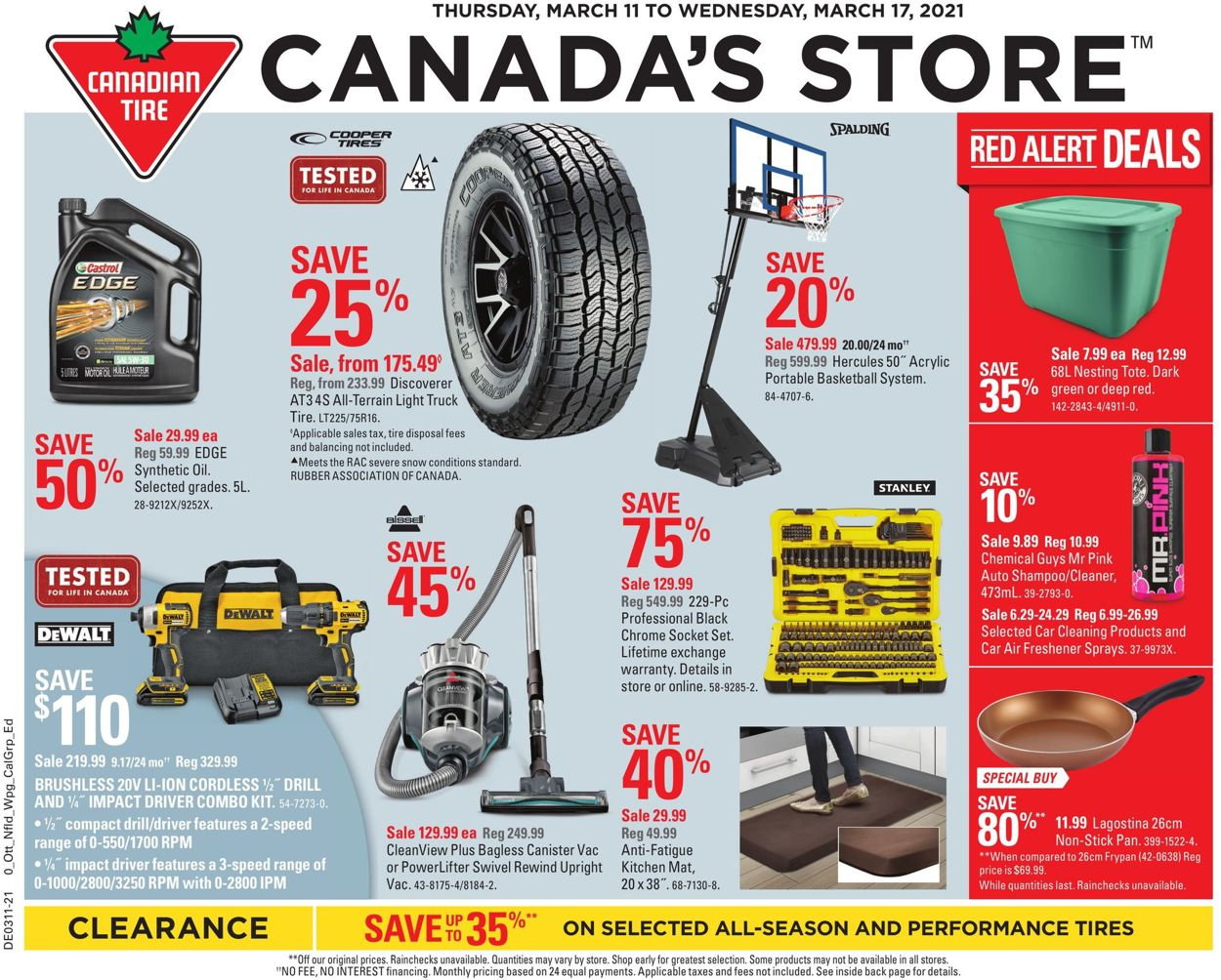 Canadian Tire Flyer - 03/11-03/17/2021