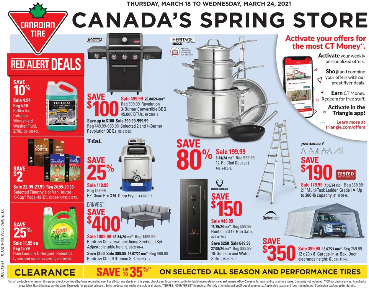 Canadian Tire Flyer - 03/18-03/24/2021