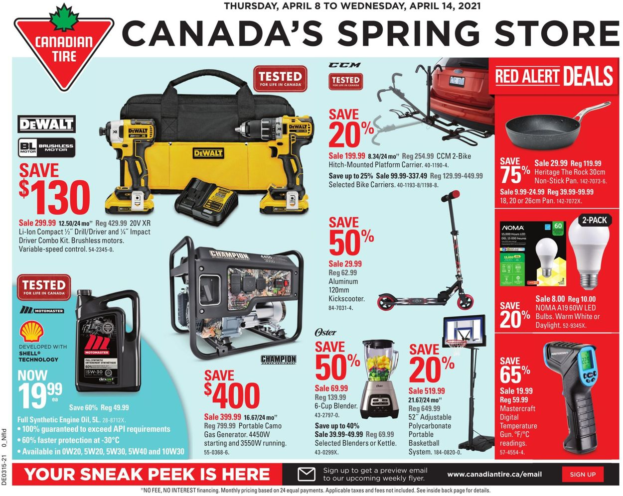 Canadian Tire Flyer - 04/08-04/14/2021