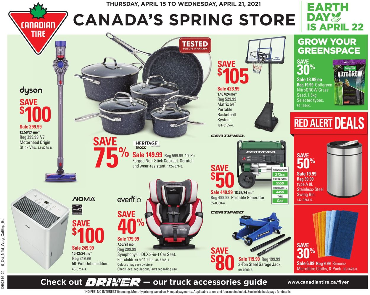 Canadian Tire Flyer - 04/15-04/21/2021