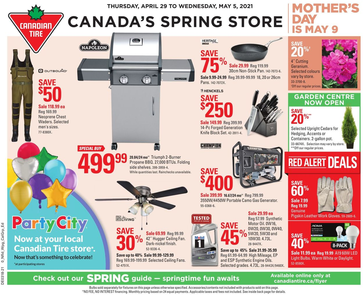 Canadian Tire Flyer - 04/29-05/05/2021