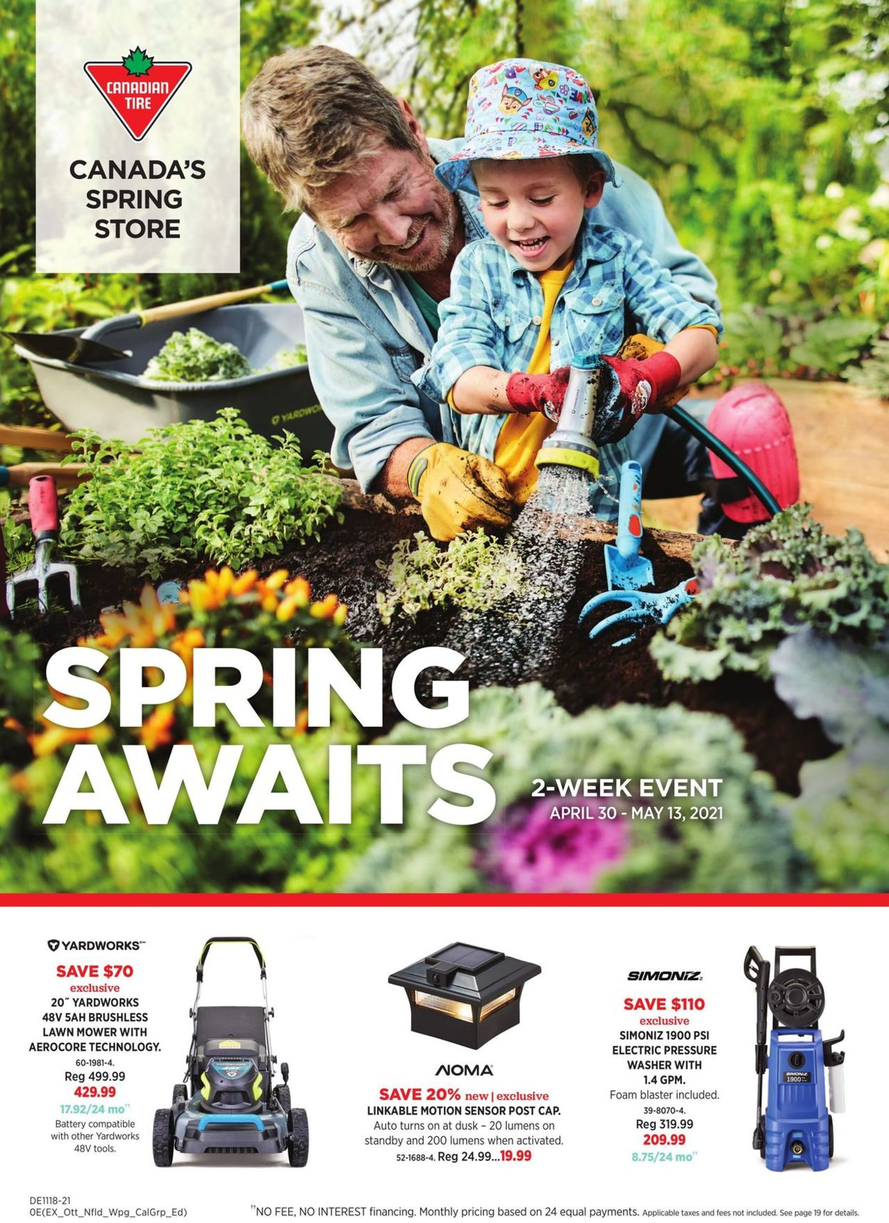 Canadian Tire Flyer - 04/30-05/13/2021