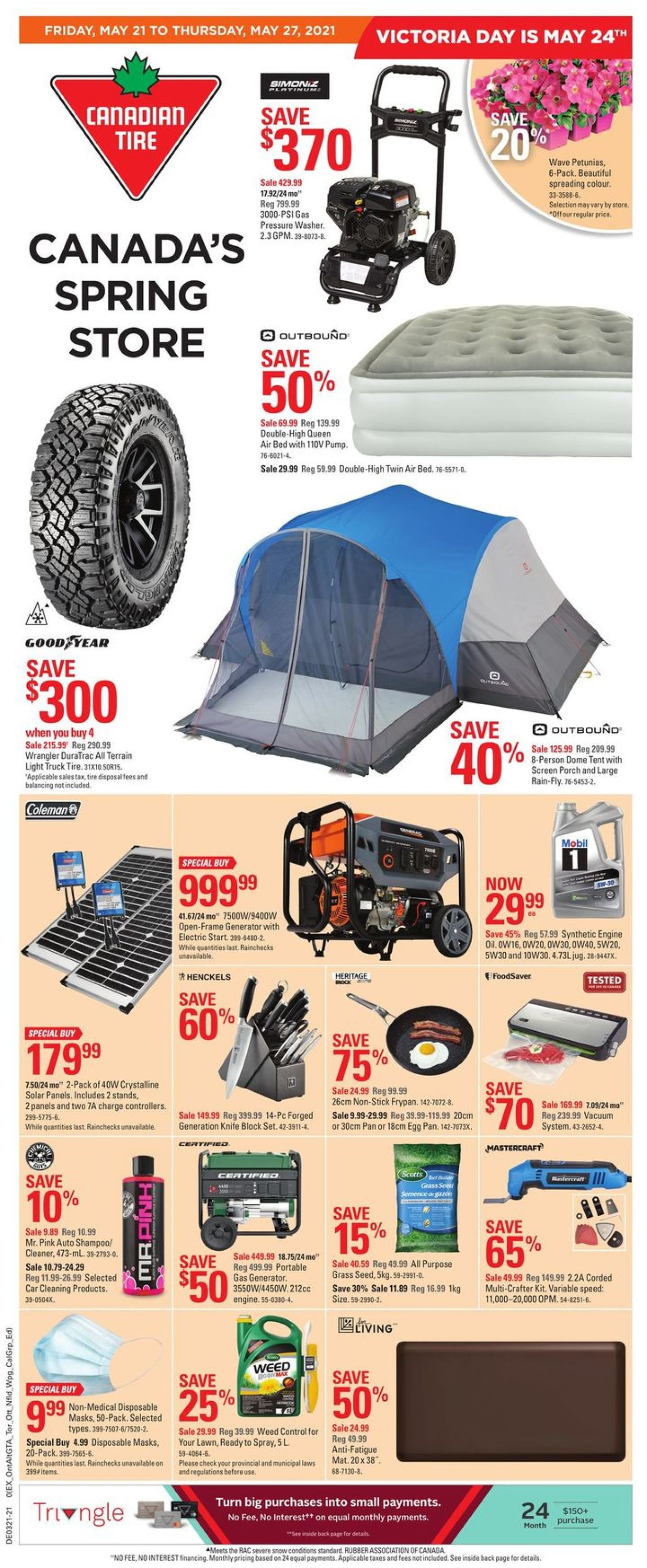 Canadian Tire Flyer - 05/21-05/27/2021