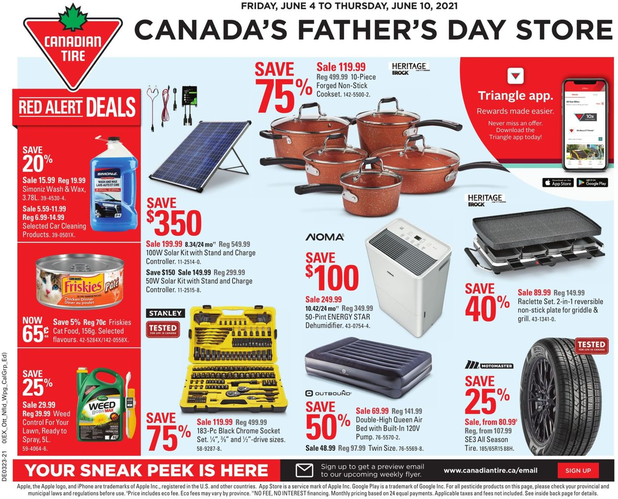 Canadian Tire Flyer - 06/04-06/10/2021