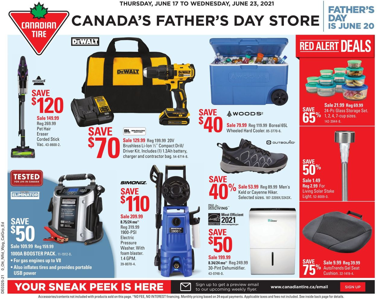 Canadian Tire Flyer - 06/17-06/23/2021