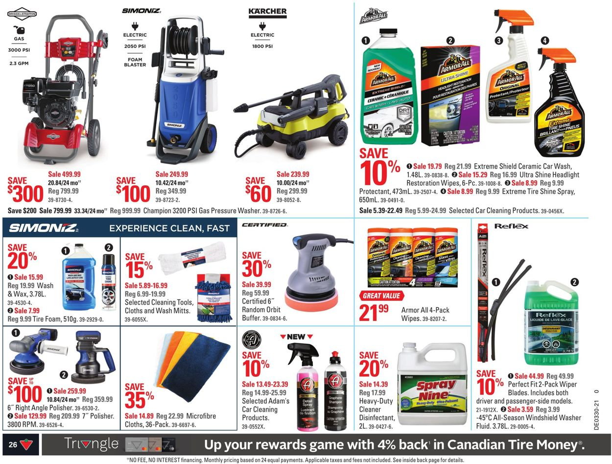 Canadian Tire Flyer - 07/22-07/28/2021 (Page 33)