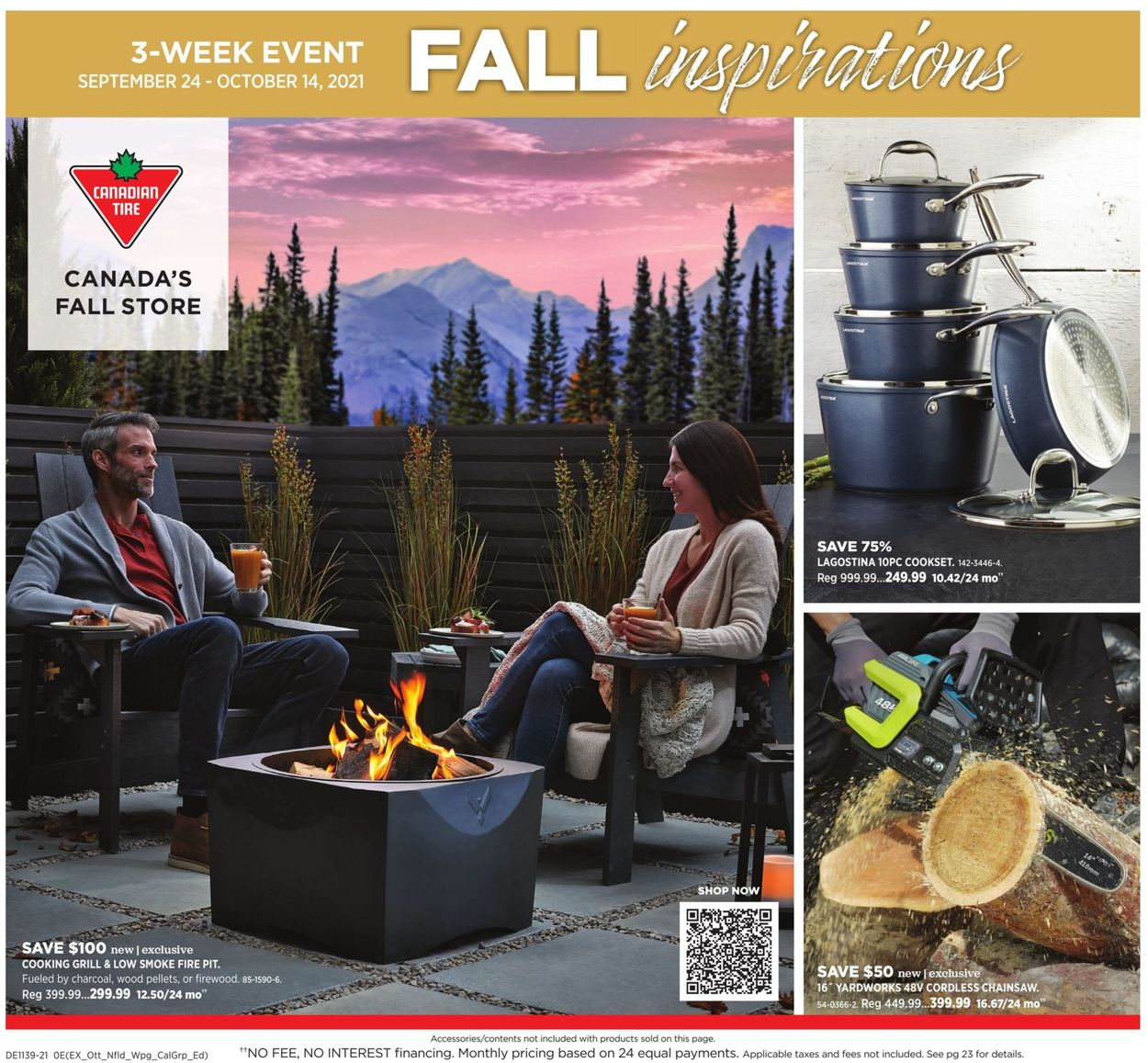 Canadian Tire Flyer - 09/24-10/14/2021