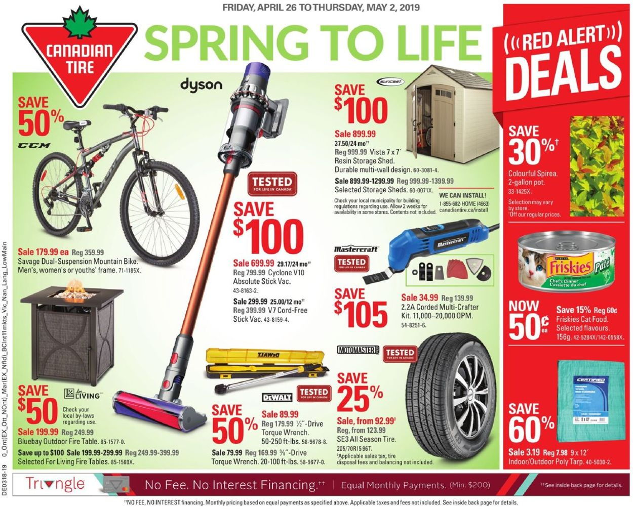 Canadian Tire Flyer - 04/26-05/02/2019
