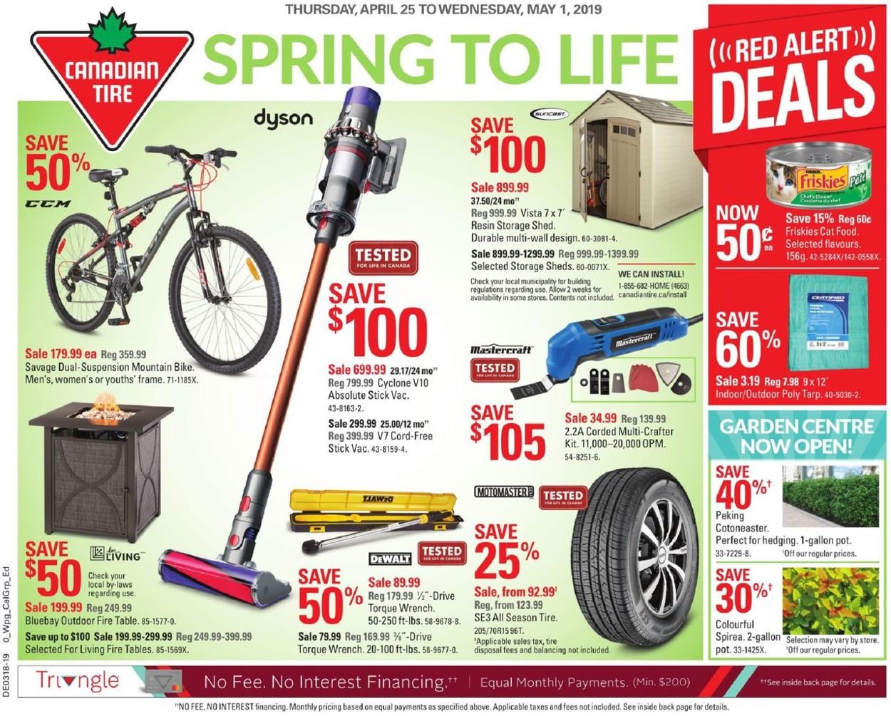 Canadian Tire Flyer - 04/25-05/01/2019