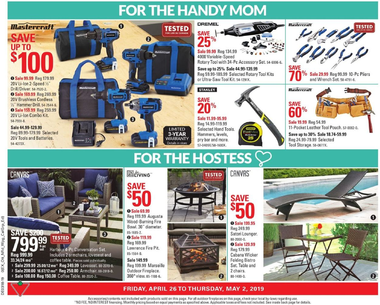 Canadian Tire Flyer - 04/26-05/02/2019 (Page 3)