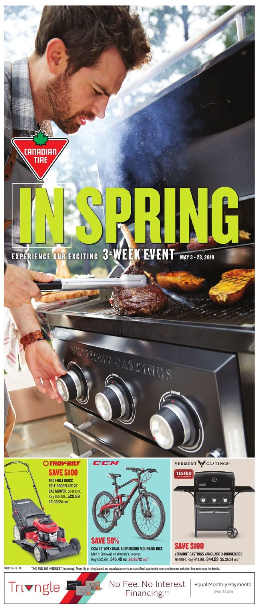 Canadian Tire Flyer - 05/03-05/23/2019