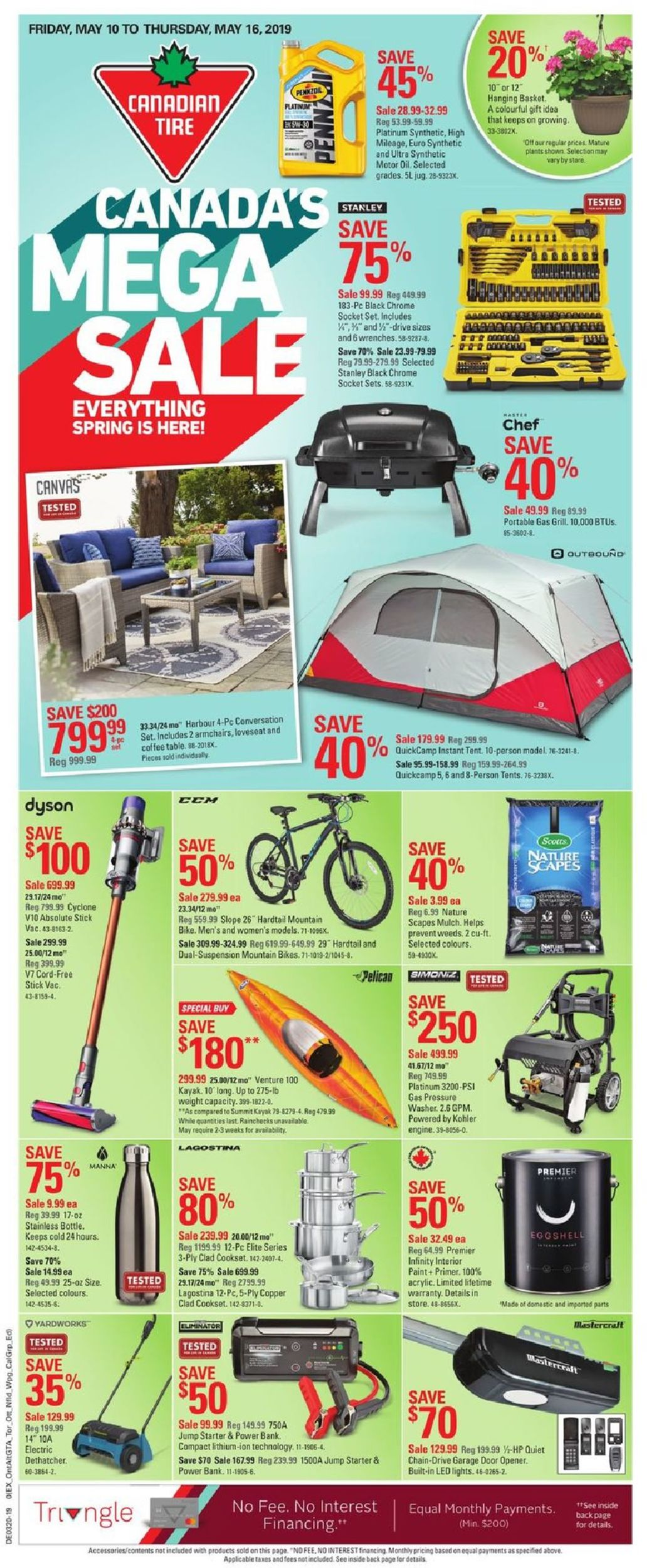 Canadian Tire Flyer - 05/10-05/16/2019